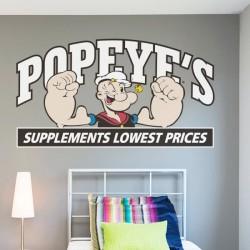 Vinilo decorativo Popeye