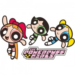Vinilo Powerpuff girls