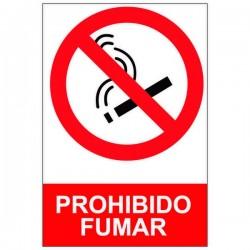 Adhesivo prohibido fumar