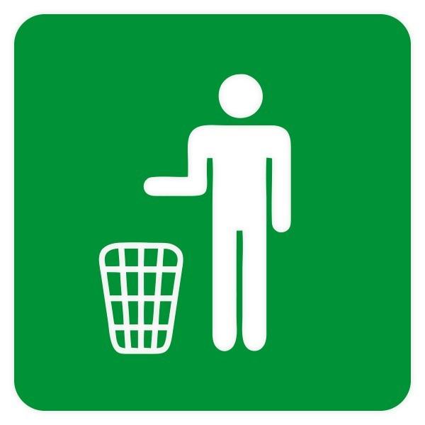 Vinilo señalética reciclaje
