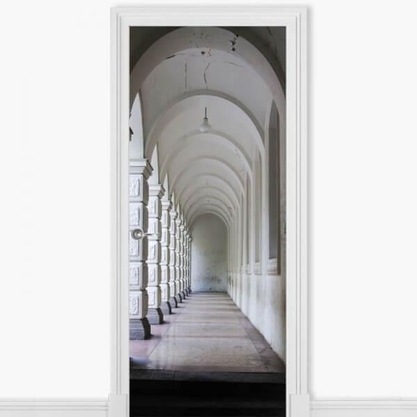 Adhesivo pasillo museo