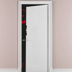 Vinilo adhesivo puerta entreabierta 6