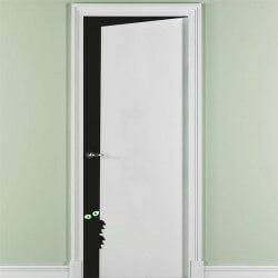Vinilo puerta entreabierta 3