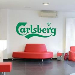 Vinilo adhesivo Carlsberg