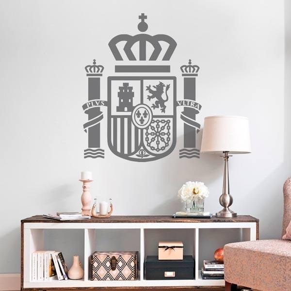 Vinilo escudo de España