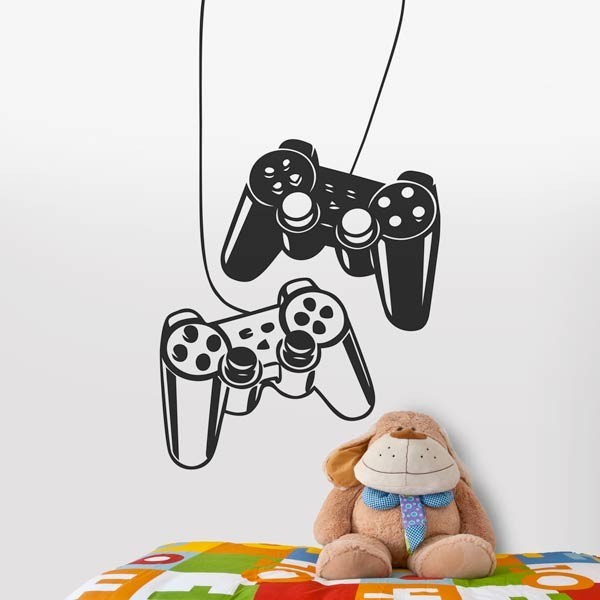 Vinilo mando de videojuegos