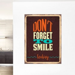 Vinilo decorativo smile