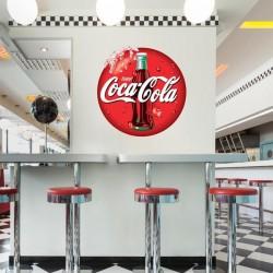 Vinilo logo de Coca-Cola