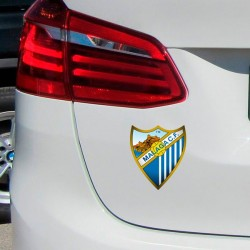 Vinilo escudo Málaga C.F.