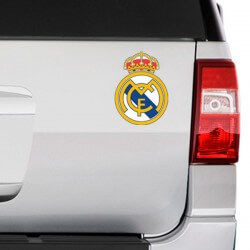 Pegatina logo de Real Madrid