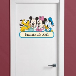 Vinilo Mickey Mouse & friends