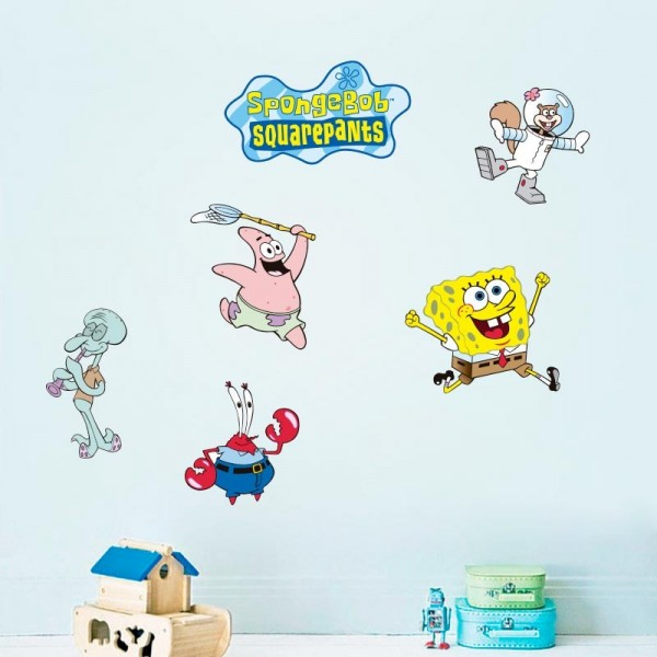 Vinilo decorativo Spongebob