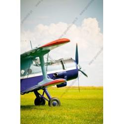 Fotomural avión colorido