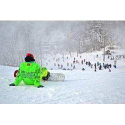 Fotomural pista de esquí