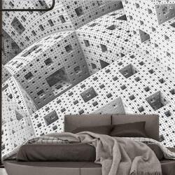 Fotomural abstracto en 3D