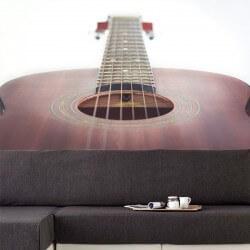 Fotomural guitarra acústica