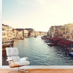 Mural de pared canal Venecia