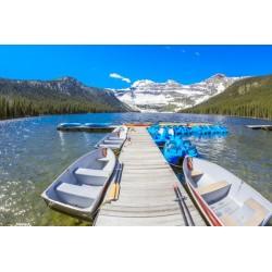 Fotomural lago Cameron
