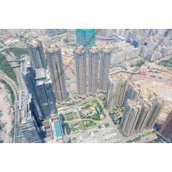 Fotomural rascacielos