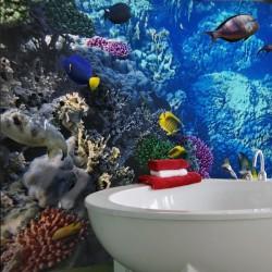 Fotomural acuario tropical