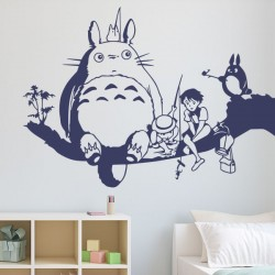Vinilo infantil Totoro