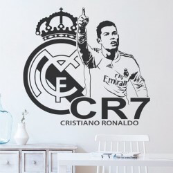 Adhesivo de pared CR7