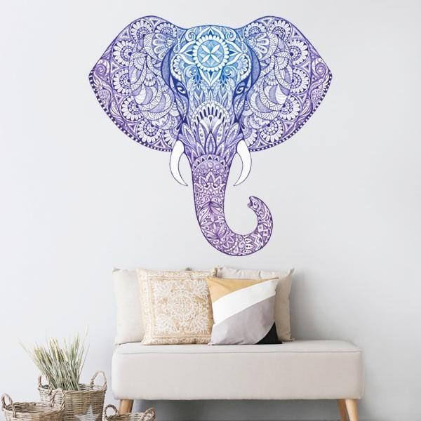 Vinilo adhesivo elefante hindú