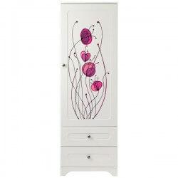 Vinilo para muebles floral colorido