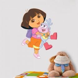 Vinilo Dora y su amigo Botas