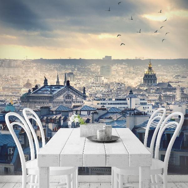 Fotomural tejados de París