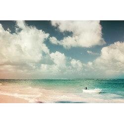 Fotomural playa vintage