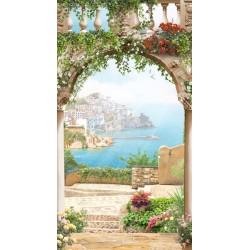 Fotomural balcón en Itália