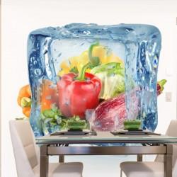 Mural de pared cubo de hielo