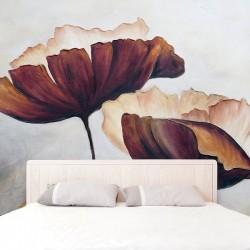 Fotomural flores ilustradas