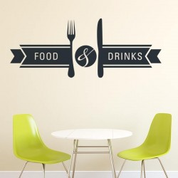 Vinilo Food Drinks