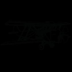Vinilo de avioneta