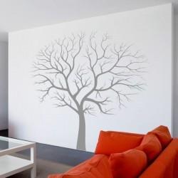 Vinilo decorativo de árbol seco