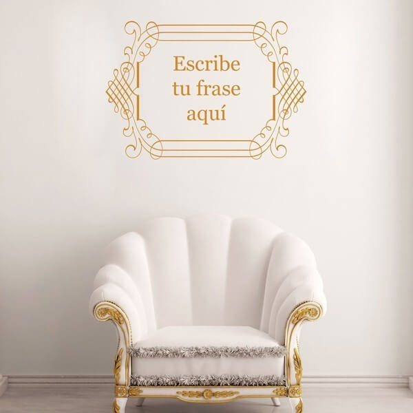 Adhesivo de pared texto decorativo 3
