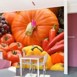 Fotomural frutas y verduras