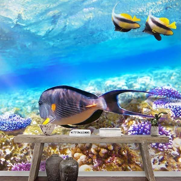 Fotomural fondo del mar
