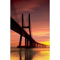 Fotomural puente Vasco da Gama