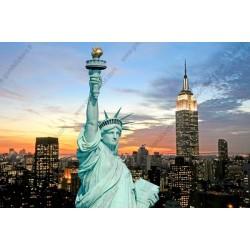 Fotomural estatua de la libertad