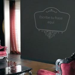 Adhesivo de pared texto decorativo 18