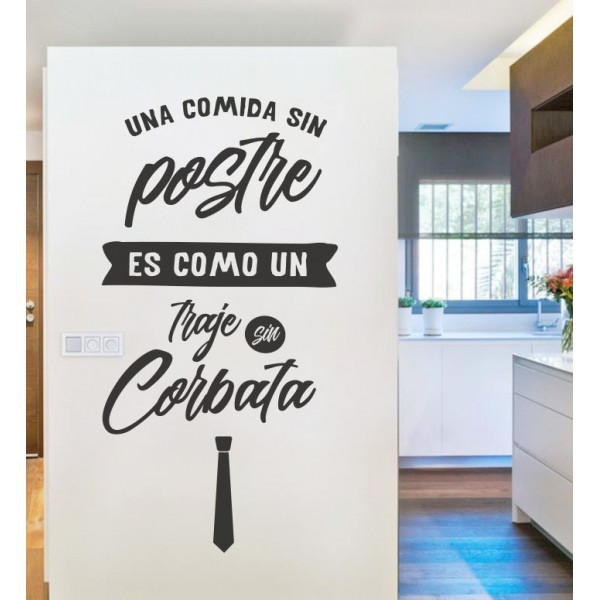 Vinilo cocina postre
