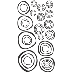 Vinilo de círculos 3