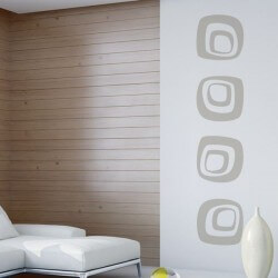 Adhesivo decorativo de cuadrados 1