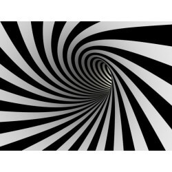 Fotomural de túnel 3D
