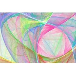 Fotomural cuerdas de colores
