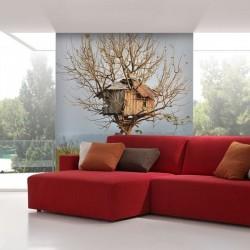Mural casa del árbol