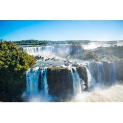 Mural cataratas del Iguazú